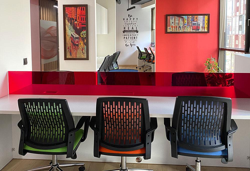 Ataköy Coworking Ofis Hizmeti